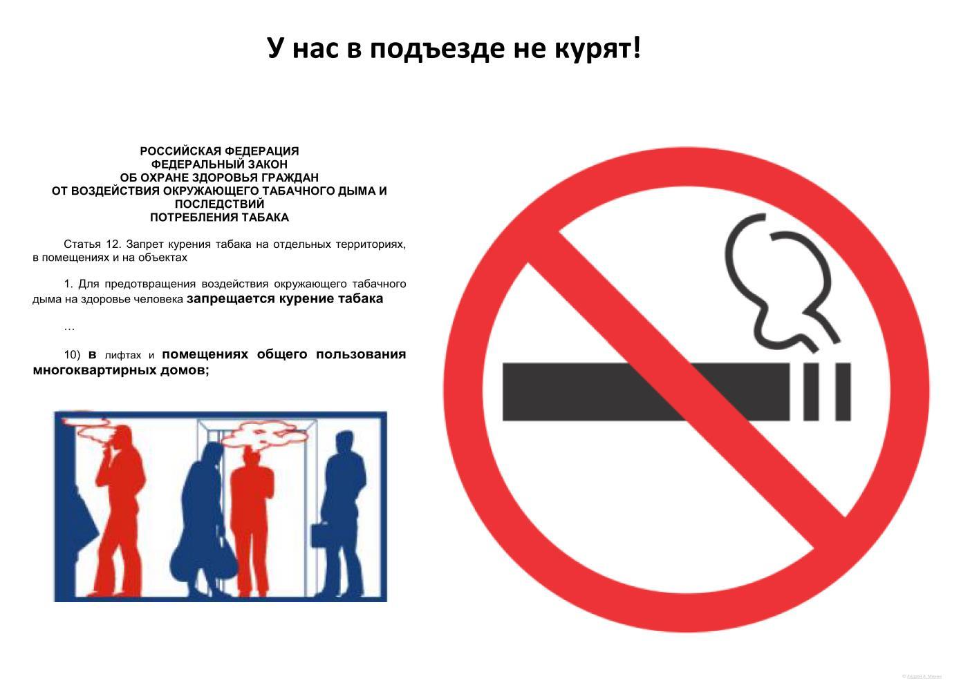Как бороться с курильщиками в подъезде, на лестничных площадках домов