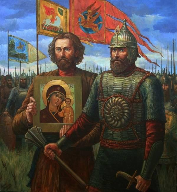 Кузьма минин и князь дмитрий пожарский доклад 3685