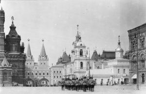 Казанский собор Москва - фото начала XX века.