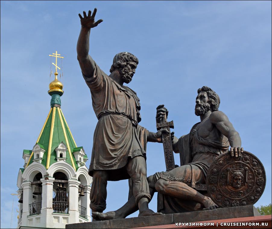 Минин и Пожарский реставрация памятника